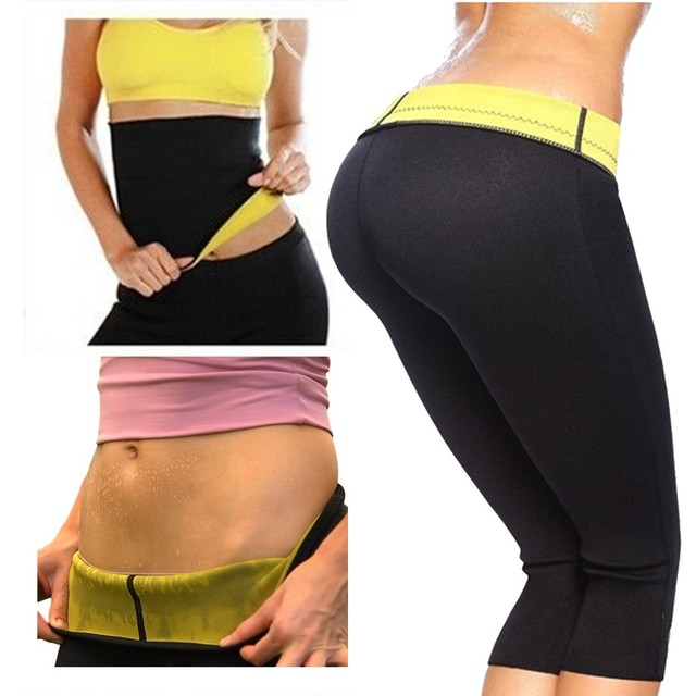 a4f8e38180 Hot Selling fitness clothing Shapers Neoprene Slimming Shaping Self-Heating  Girls Slimming Yoga Pants Body Shaper sport leggings