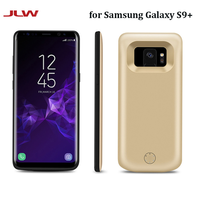 new product f28f5 5d4de US $31.48 |JLW 6000mAh Battery Charger Case for Samsung Galaxy S9 Plus  External Backup Battery Clip Rechargeable Phone Case for Galaxy S9+-in  Battery ...