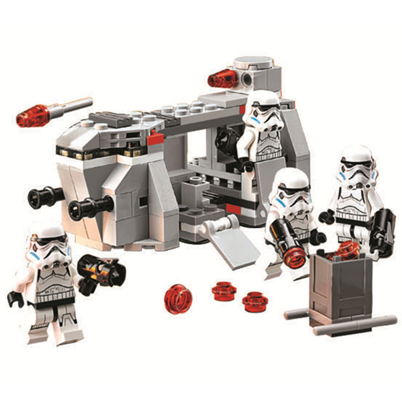 141pcs New Compatible LegoINGlys Star Wars Imperial Troop Transport Building Blocks Educational Toys For Children Boys Gifts