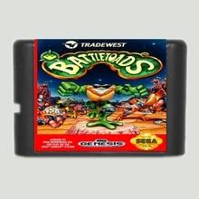Battletoads 16 bits MD Carte de Jeu Pour Sega Mega Drive Pour Sega Genesis
