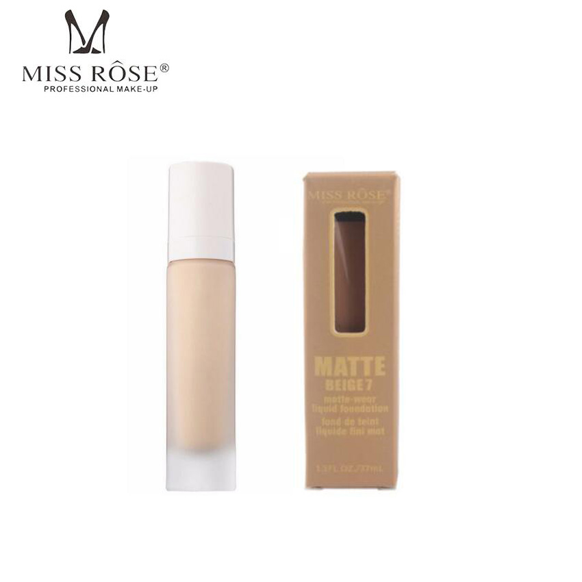 Miss Rose Brand Makeup Concealer Repair Nourish Cover Face Gift Pro Filt Soft Instant Retouch Primer Matte Longwear Foundation