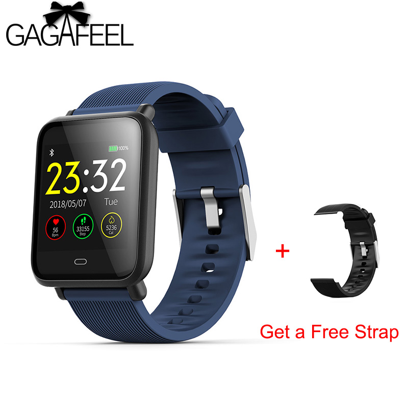 Q9 Smart Watch Blood Pressure Heart Rate Sleep Monitor Bracelet IP67 Waterproof Sport Fitness Trakcer Watch Men Women Smartwatch colmi v11 smart watch ip67 waterproof tempered glass activity fitness tracker heart rate monitor brim men women smartwatch