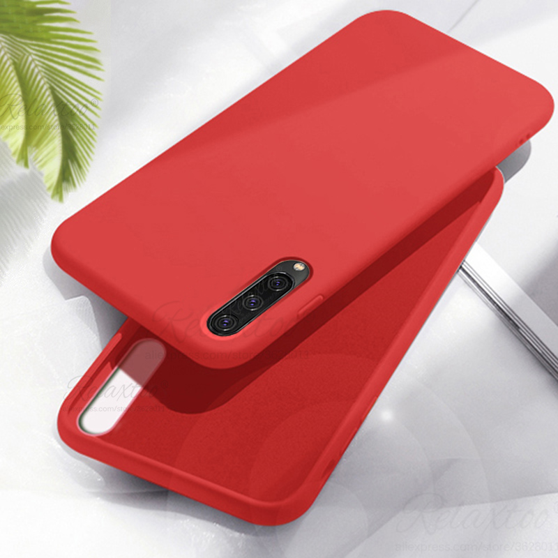 case for <font><b>samsung</b></font> <font><b>Galaxy</b></font> <font><b>A50</b></font> A70 Liquid silicone phone case for <font><b>samsung</b></font> A 50 70 <font><b>A505f</b></font> A705f soft tpu protection back cover couqe image