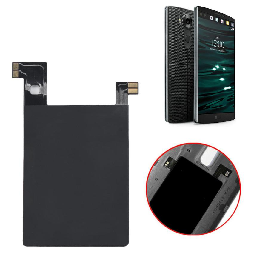 Wireless charging receiving for LG V10 Wireless Charging Sticker Receiver Qi with Nfc Ic chip for LG V10 Snowdrop shopping ...