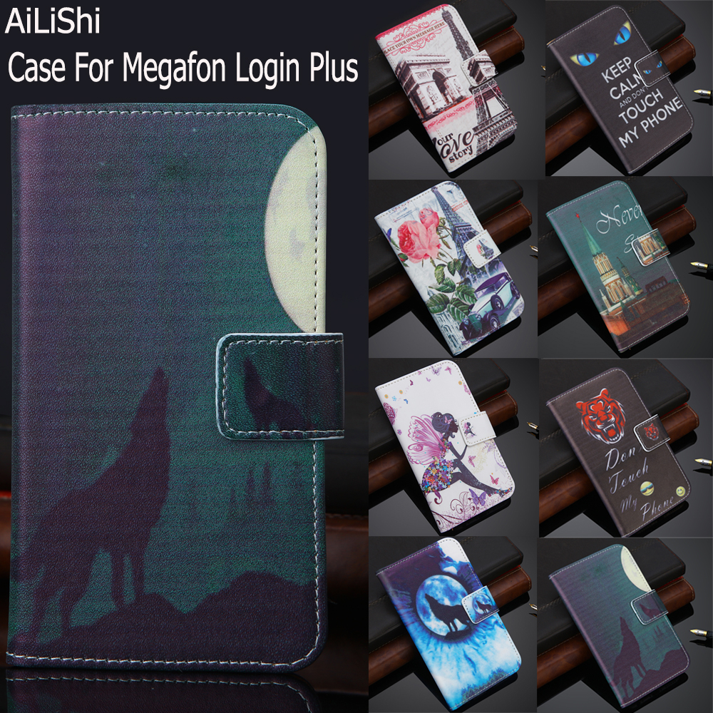 AiLiShi Factory Direct! Case For Megafon Login Plus Luxury F