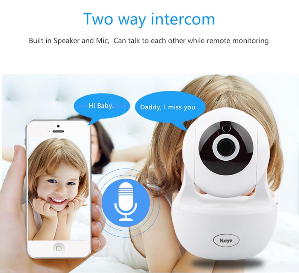 N_eye IP Camera HD 1080P Home Security Camera wifi camera with IR Night  Vision Audio Record Monitor IP Camera