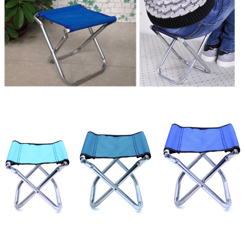 Home & Garden Popular Brand 1pcs Portable Mini Folding Seat Chair Stool Outdoor Camping Picnic Fishing Tool At All Costs