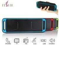 Built In Mic Dual Speaker Bass Sound Speakers Portable Wireless Speaker Bluetooth 4 0 Stereo Subwoofer