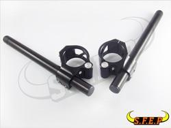 50mm CNC Split Riser klip na kierownicę do Yamaha YZF-R6 2006-2016/YZF-R1 1998-2016 /YZF-750 czarny