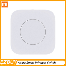 Xiaomi Aqara Smart Wireless Switch Intelligent Application Remote Control ZigBee Wifi Connection For Doorbell цена