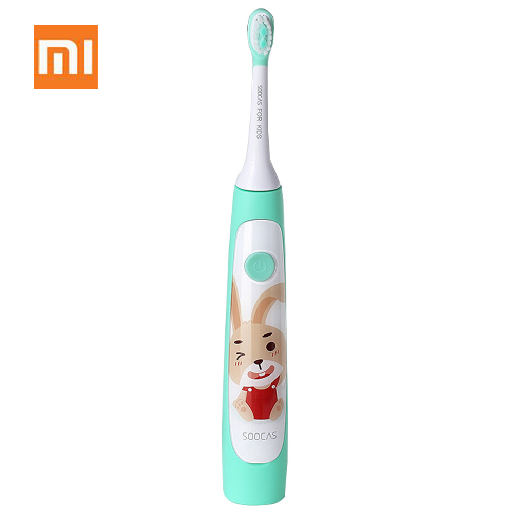 Xiaomi SOOCAS C1 Cute Waterproof Sonic Electric Toothbrush For Kids Rechargeable Ultrasonic Toothbrush Dental Care Tooth BrushXiaomi SOOCAS C1 Cute Waterproof Sonic Electric Toothbrush For Kids Rechargeable Ultrasonic Toothbrush Dental Care Tooth Brush
