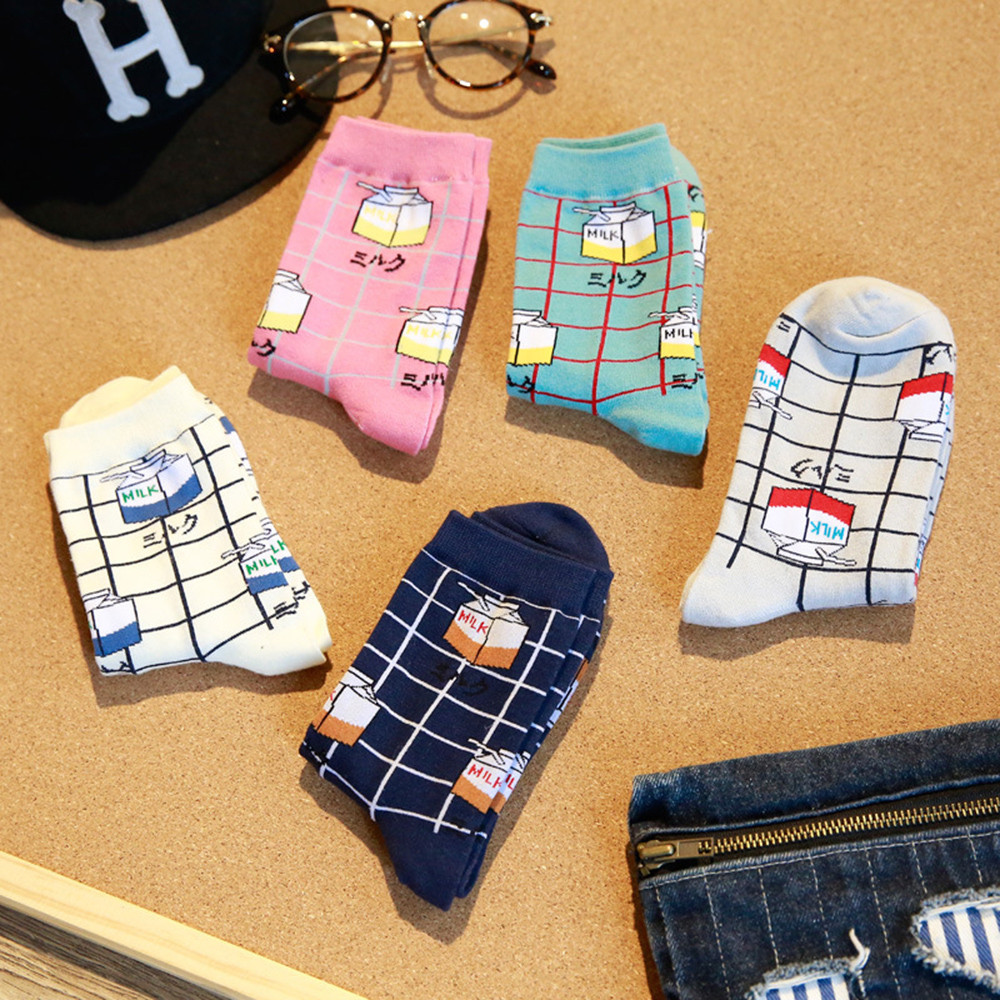 2019 High Quality Cute Elegant Lovely Kawaii Cartoon Sweet Harajuku Cotton Women Socks Animals Character Casual Short SocksS-8