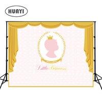 Photography backdrops Princess Party Pink Gold Glitter Birthday Invitation celebration Party Table Dessert Background W 312