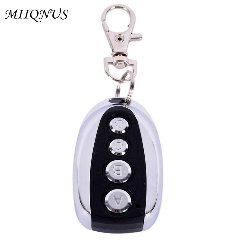 433mhz Universal Cloning Key Fob Remote Control for Garage Doors Electric Gate cars ETC Remote Control Duplicator universal cloning remote control key fob garage door electric gate 315mhz 433mhz z09 drop ship