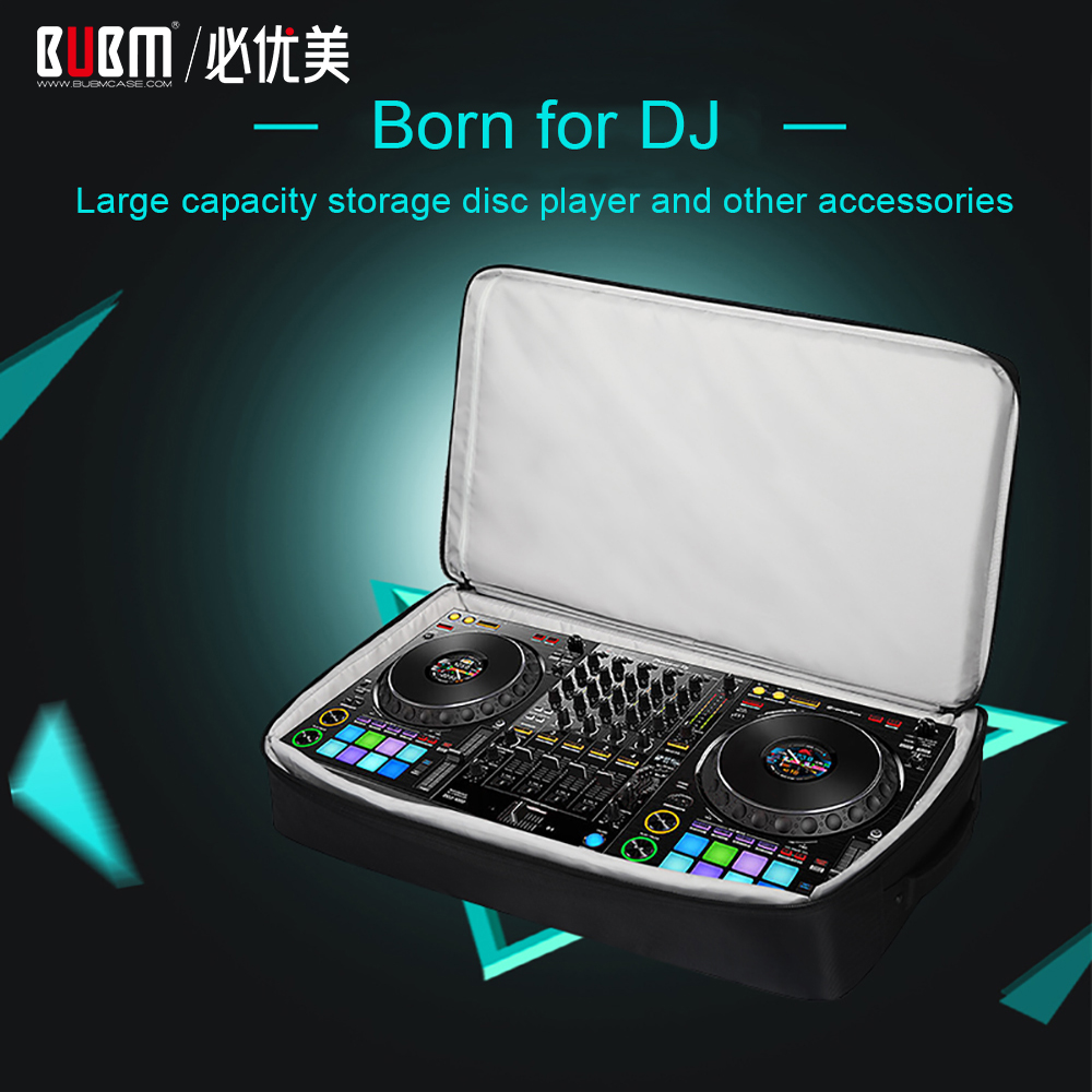 BUBM Padded Nylon Carry Bag DJ Equipment Bag Protective Storage Travel Bag for Pioneer DJ 1000