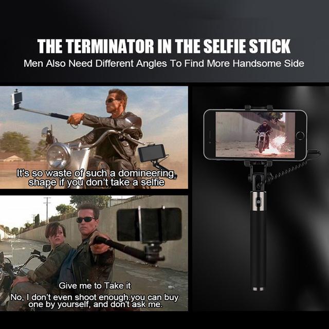 TOMKAS Universal Mini Selfie Stick