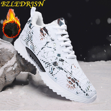 Running Shoes for Men 2018 winter New women Sneakers Lace Up Low Top Jogging Shoes Man Athletic Footwear outdoor ladies Sale