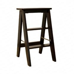 Domowy wielofunkcyjny składana drabina stołek solidna drewniana drabina wznosząca platforma krok stołek 2 w 1 stojak krzesło schodowe w Taborety i drabinki od Meble na