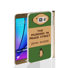07154 penguin murders praed street cell phone case cover for Samsung Galaxy Note 3,4,5,E5,E7 CORE Max G5108Q