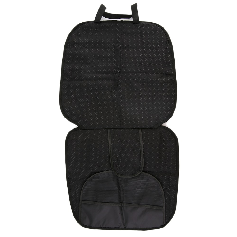 New Universal Black Car Seat Protector Mat Child or Baby Car Seat Cover Infant Easy Clean Seat Protector Safety Anti Slip