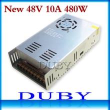 Neue modell 48 V 10A 480 Watt schaltnetzteil Treiber Für Led-lichtleiste Anzeige AC100-240V Fabrik Lieferant Freies verschiffen