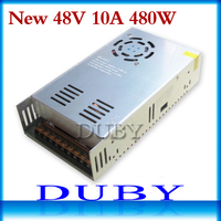 New model 48V 10A 480W Switching power supply Driver For LED Light Strip Display AC100 240V Factory Supplier Free shipping