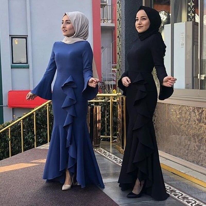 Vestido Longo Abaya Muslim Dress Islamic Kaftan Pakistani Arabic Turkish Dresses Elbise Indonesia Robe Musulmane Longue Caftan