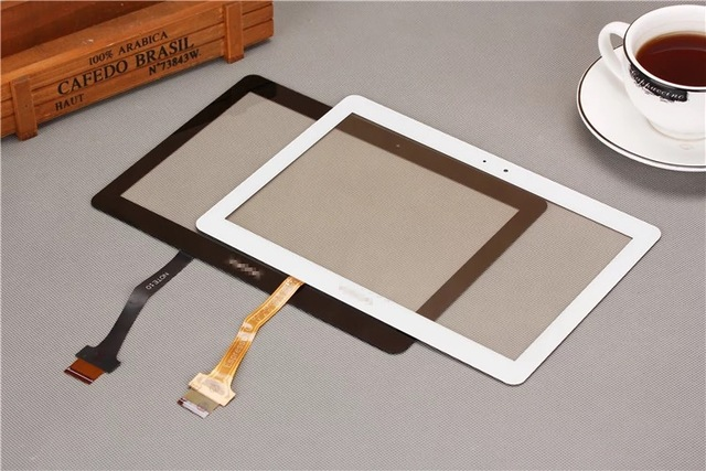 For New samsung GT - N8000 flat-panel display on the outside P5100 touchscreen P5110 N8010 glass mirror P5113
