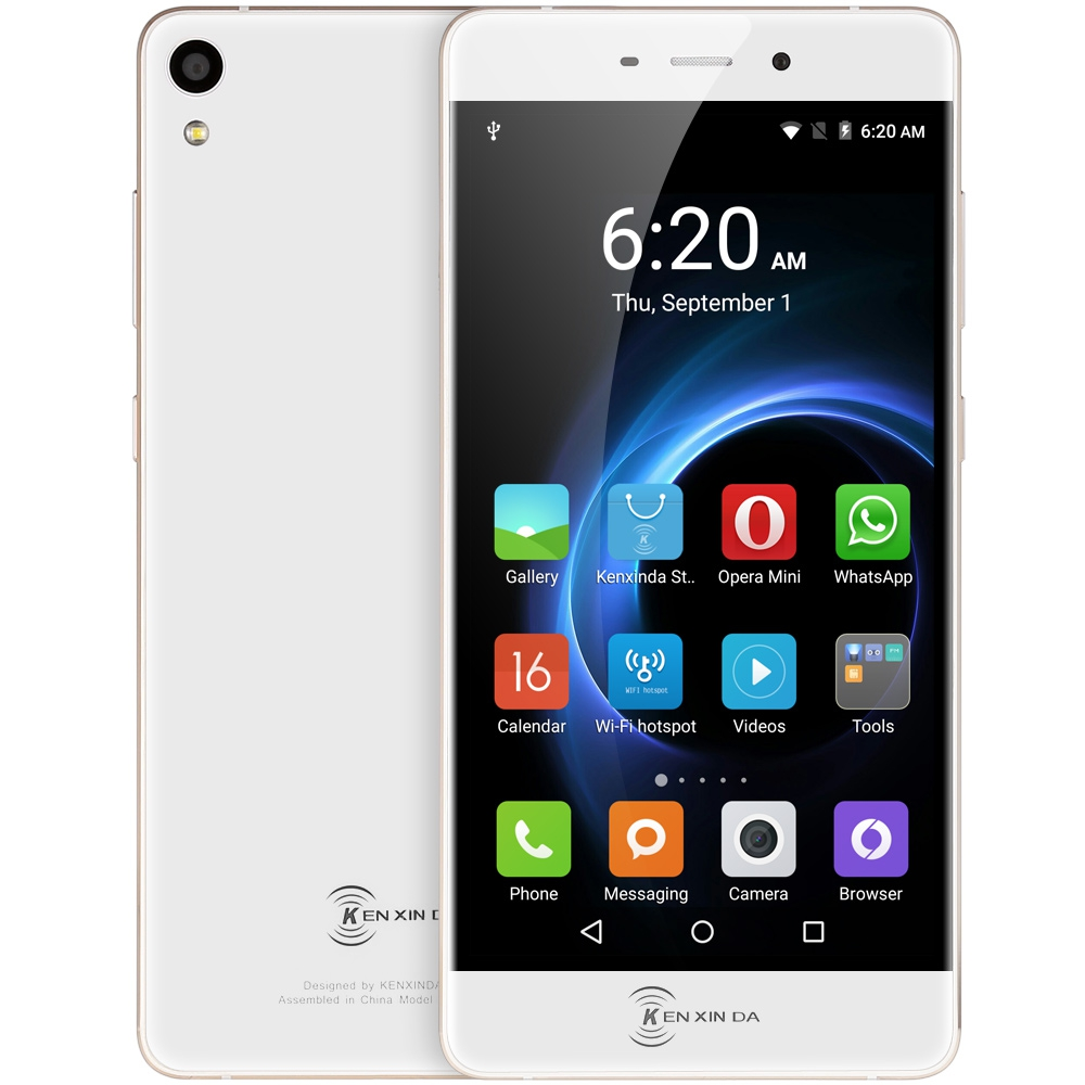 Origianl Kenxinda R6 5.2 inch Android 5.1 4G Smartphone MTK6753 Octa Core 1.3GHz 2GB RAM 16GB ROM GPS Navigation Mobile Phone
