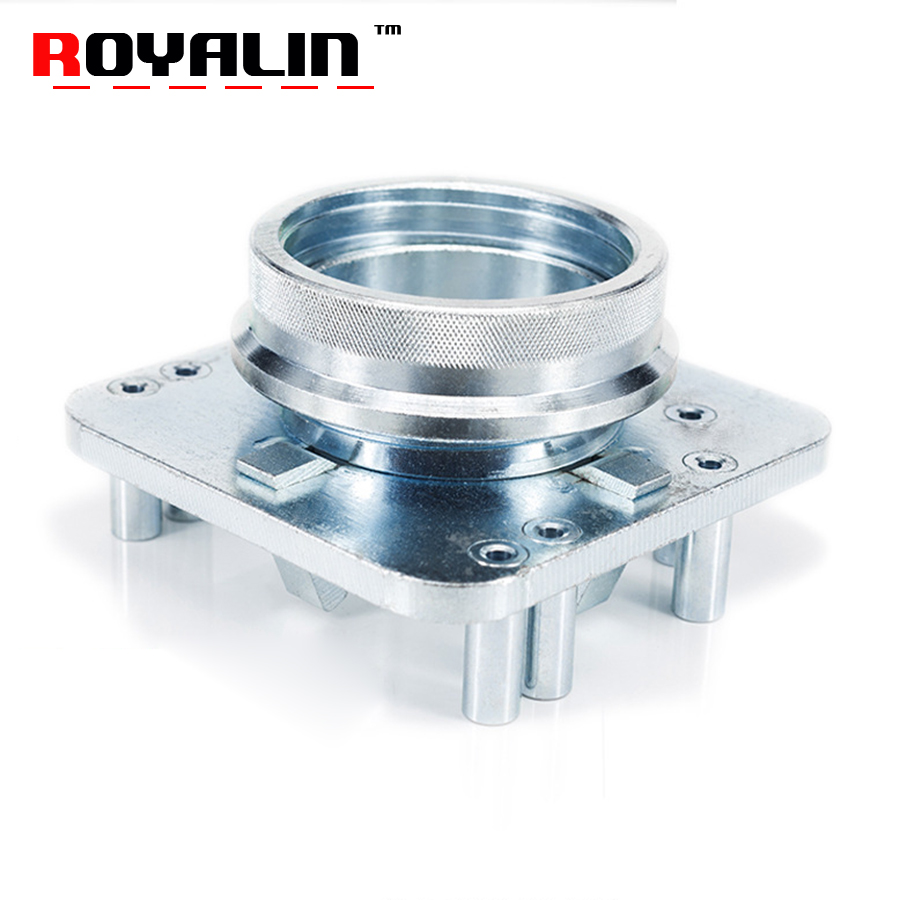 ROYALIN Car Styling Headlight Projector Lens Retrofits Tools Mounting Moulds Plate for Koito Q5 Hella 3