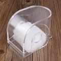 Hot Relojes de Regalo de Navidad Caja de Reloj De Plástico Transparente Cajas de Embalaje de Joyas Caja De Almacenamiento de Visualización Watchbox 9*5.8*7.5 cm