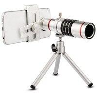 Universal Clip Telephoto 18x Zoom Camera Phone Lenses Telescope Lens For IPhone 5s 6 Samsung S7