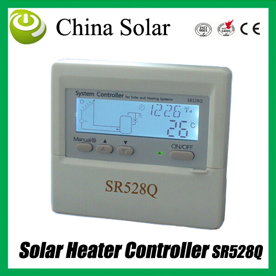 2017 New Arrival wireless Solar controller,SR528Q controller,600m communication distance Free ISM,max 8 wireless display meters
