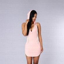 2016 жаркие летние модели П-образный платье без рукавов