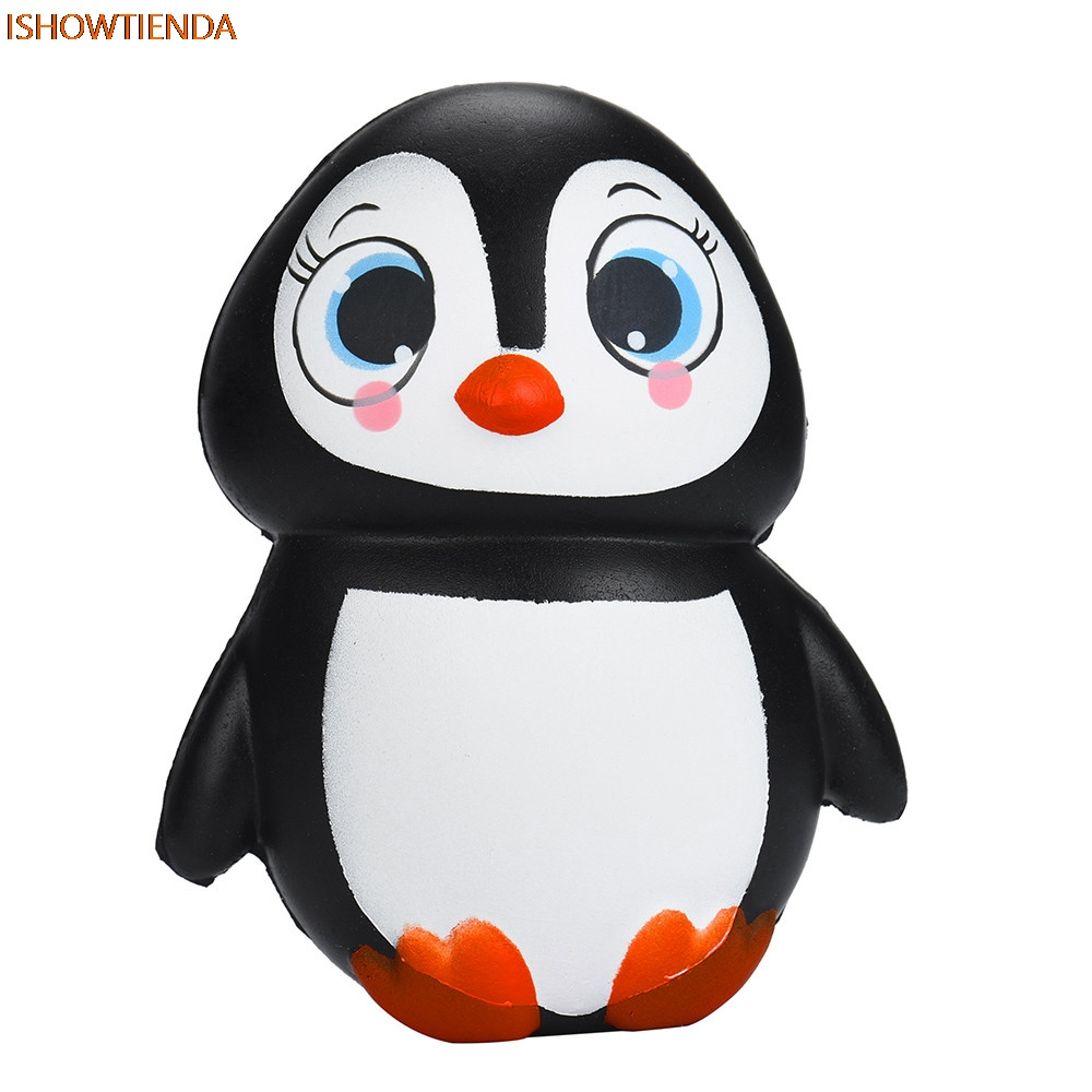 Cute Penguins Squishy Slow Rising Cream Scented Decompression Toys Stress Relief Reliever Squishy Toy Hot