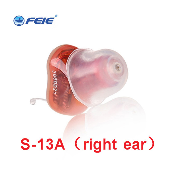 цена на In Ear Mini Digital Hearing Aids Assistance Adjustable Sound Amplifier rechargeable Hearing Aid For Deaf People Ear Care S-13A