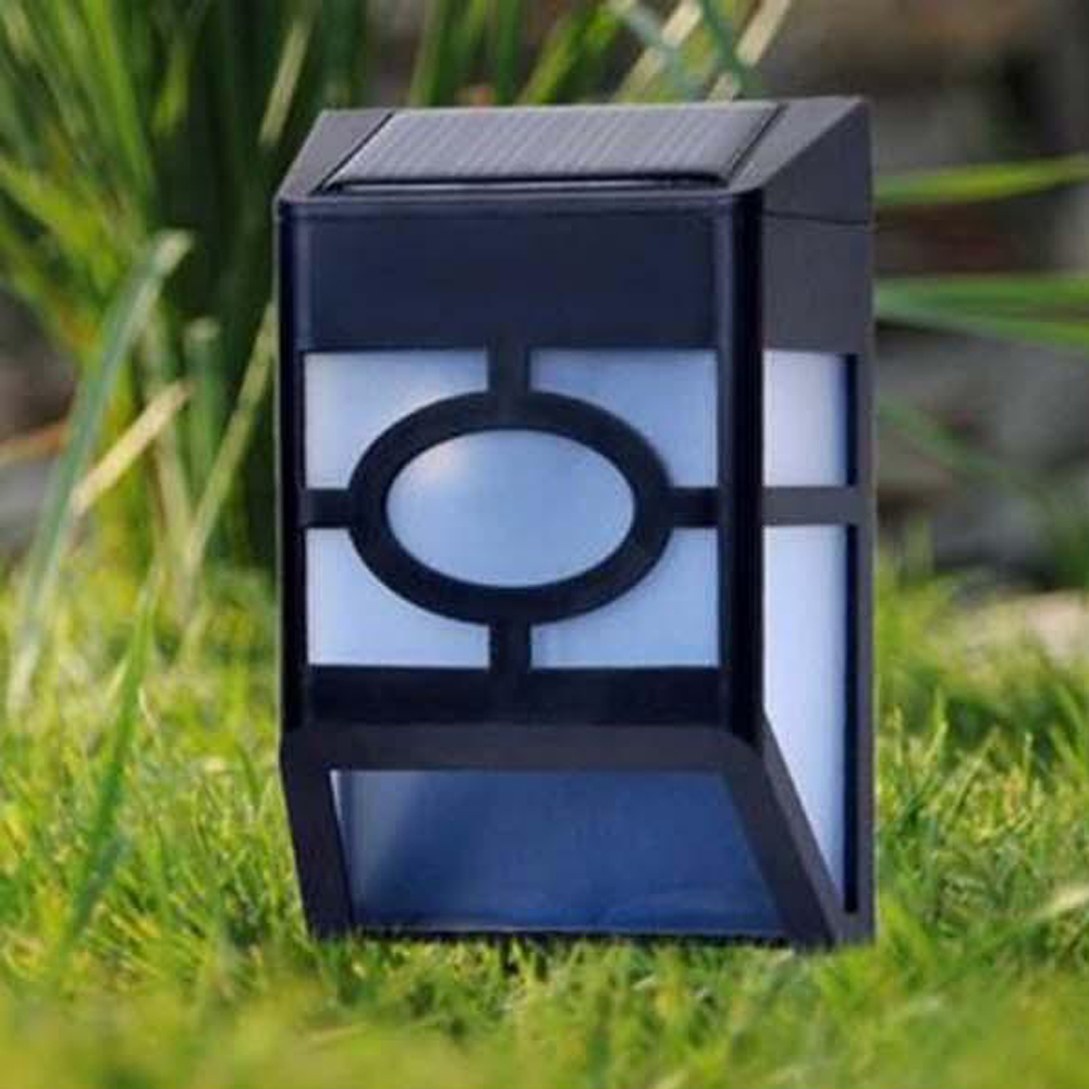 Youool wireless waterproof Wall Lamp Solar Light 2 LED High-quality Outdoor Garden Road Wall Patio Landscape Lighting