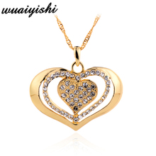 2019 fashion new hot sale gift heart-shaped pendant ladies necklace silver wild jewelry retro charm pendant necklace chain trend цена