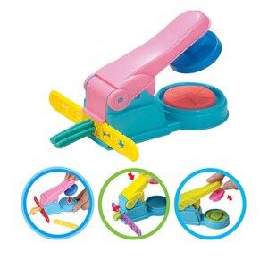 Image 1 - צבע לשחק בצק דגם כלי צעצועי Creative 3D פלסטלינה כלים Playdough סט חימר תבניות Deluxe סט, למידה חינוך צעצועים