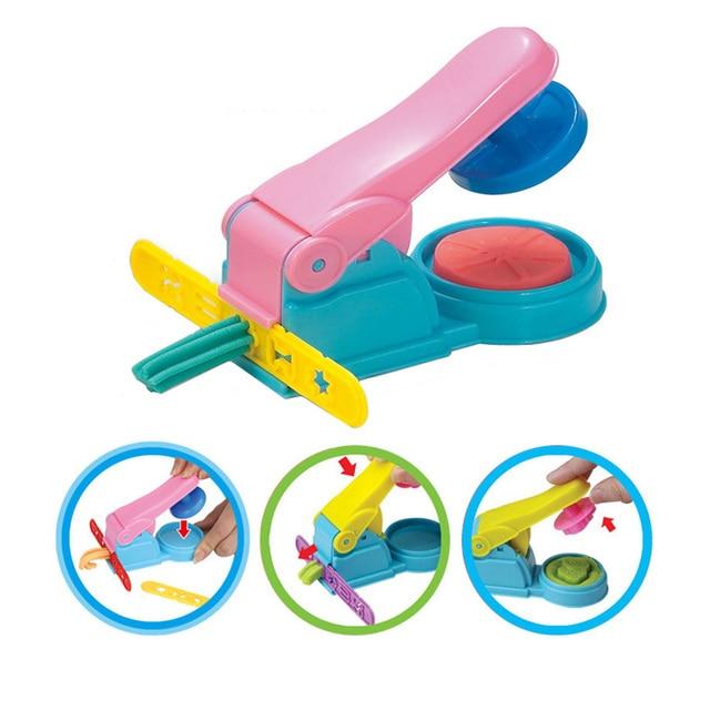צבע לשחק בצק דגם כלי צעצועי Creative 3D פלסטלינה כלים Playdough סט חימר תבניות Deluxe סט, למידה חינוך צעצועים