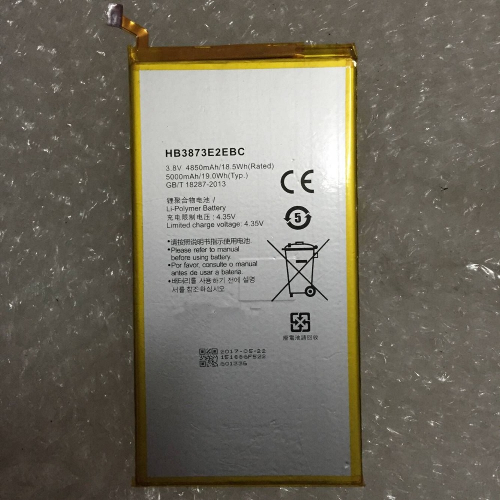 NEW for Huawei HB3873E2EBC Rechargeable battery For Huawei mediapad X2 Honor X1 7D-503L 7D-501U 5000mAh