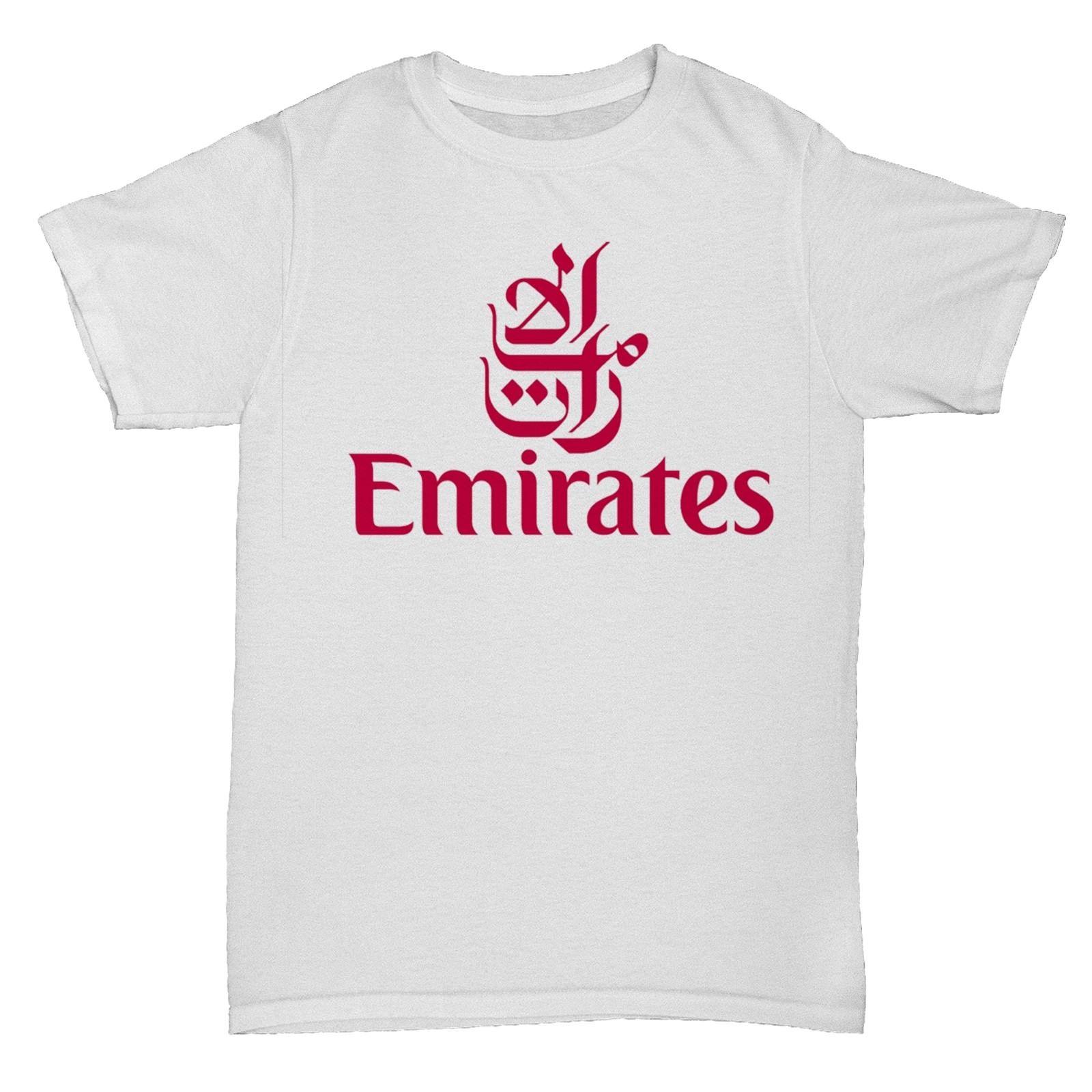 EMIRATES UAE AIRWAYS BA AIRLINES RETRO AEROPLANE BOAC PAN AM T SHIRT Men T-Shirts Men Clothing Plus Size top tee