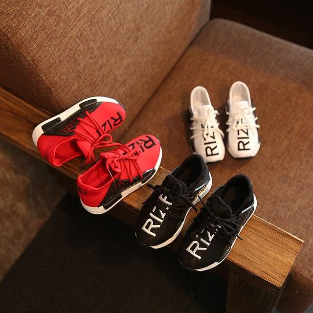 Новый Стиль 2016 Мужчин Кроссовки Обувь Дети Кроссовки Мальчики Девочки Спортивной Обуви Воздухопроницаемой Сеткой Skidproof Открытый Кроссовки Zapatos Hombre