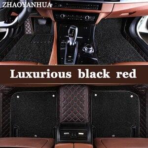 ZHAOYANHUA alfombrillas especiales de coche para Toyota Camry Corolla RAV4 Mark X Crown Verso 5D impermeable de cuero antideslizante alfombra liner