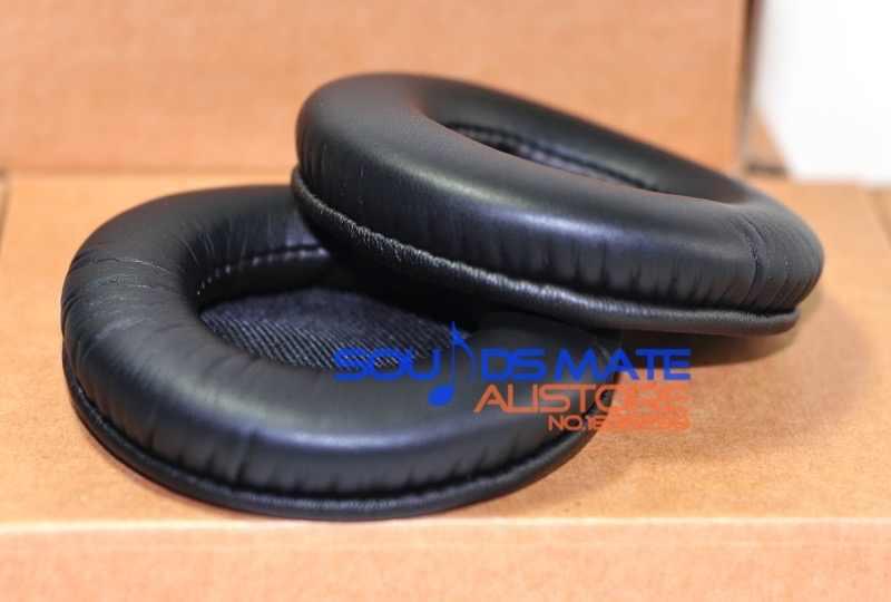Мягче белков кожи кожаные амбушюры для Pioneer HDJ2000 HDJ1500 HDJ1000 DJ наушников на замену подушки EP01