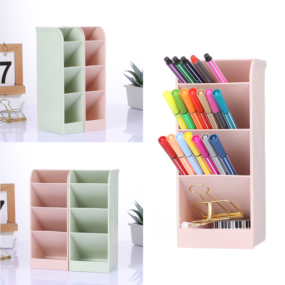 Makeup-Organizer Desk-Holder Cosmetic-Storage 4-Grids Creative New Multi-Function title=
