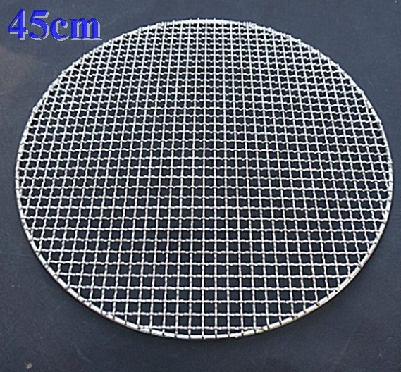 450 800mm Big type round stainless steel barbecue net,carbon bake ...