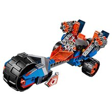LEPIN Nexo Knights Macys Thunder Mace Combination Marvel Building Blocks Kits Toys Minifigures Compatible Legoe Nexus