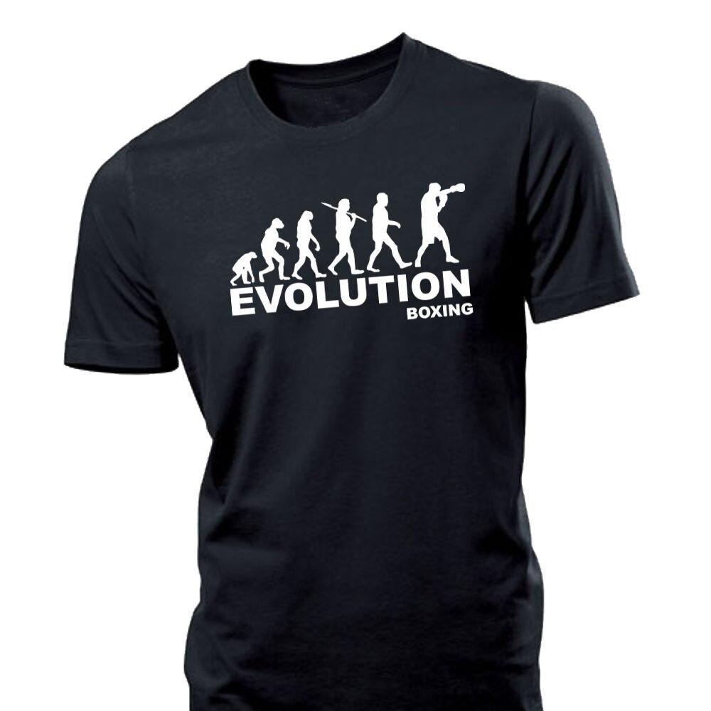 2018 New Summer Men Hot Sale Fashion Evolution Boxer Mens T Shirt