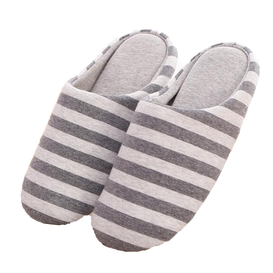 Women Winter Warm Ful Slippers Women Slippers Cotton Stripes Lovers Home Slippers Indoor Plush Size House Shoes Woman wholesale какую видеокамеру купить за 30000 70000 ful hd